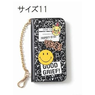 ドゥーズィエムクラス(DEUXIEME CLASSE)のGOOD GRIEF! SMILE patched iphone cover (iPhoneケース)