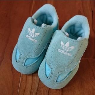 アディダス(adidas)のadidas アディダス adifit 10cm 美品 ベビー スニーカー(スニーカー)