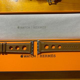 エルメス(Hermes)の未使用 Appleウオッチ HERMES ベルト42、44 ㍉(レザーベルト)