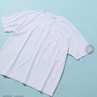 アダムエロぺ(Adam et Rope')のアダム ロペ Tシャツ カットソー 白 未使用 無地(Tシャツ/カットソー(半袖/袖なし))
