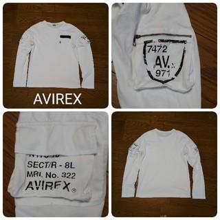 アヴィレックス(AVIREX)のAVIREX  アヴィレックス  ロングTシャツ(Tシャツ/カットソー(七分/長袖))