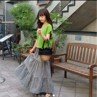 シェリーモナ(Cherie Mona)のシェリーモナ ギンガムチェック スカート(ロングスカート)