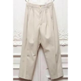 ジルサンダー(Jil Sander)の(求) hed mayner 19ss four pleat pants 40(スラックス)