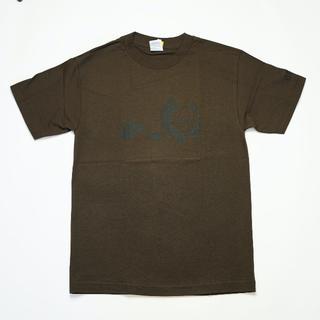 エンジョイ(enjoi)の新品送料無料 enjoi skate LOGO TEE/BROWN S(Tシャツ/カットソー(半袖/袖なし))