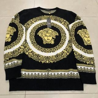 ヴェルサーチ(VERSACE)の秋冬 VERSACE セーター メンズ Lサイズ(ニット/セーター)