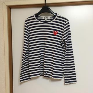 コムデギャルソン(COMME des GARCONS)のPLAY COMMEdesGARCONS 長袖Tシャツ(Tシャツ(長袖/七分))