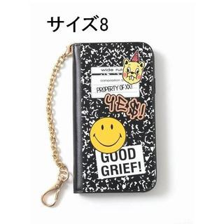 ドゥーズィエムクラス(DEUXIEME CLASSE)のGOOD GRIEF! SMILE patched iphone cover(iPhoneケース)