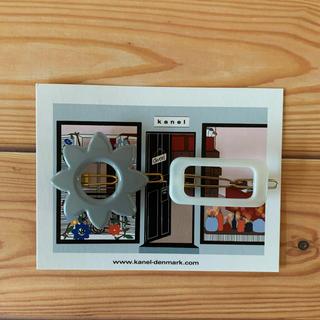 ロンハーマン(Ron Herman)の新品 kanel  カネル ヘアピン フラワー ANNA RECTANGLE(ヘアピン)
