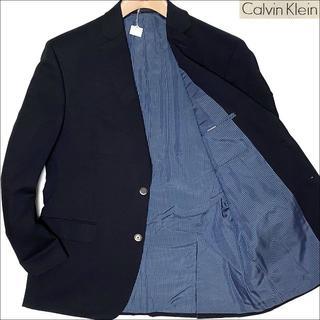 カルバンクライン(Calvin Klein)のJ3005 美品 カルバンクライン メタルボタン 紺ブレザー 紺ブレ 40R(テーラードジャケット)