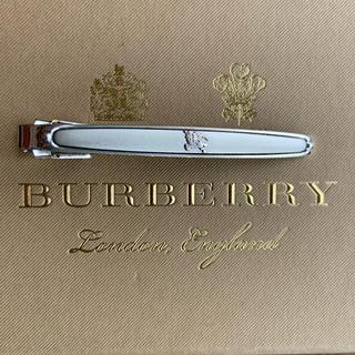 バーバリー(BURBERRY)の美品 BURBERRY スターリングシルバー製 ネクタイピン※付属品無し(ネクタイピン)