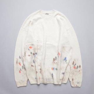 ワンエルディーケーセレクト(1LDK SELECT)のオーラリー White Baby Cashmere Hand Painted (ニット/セーター)