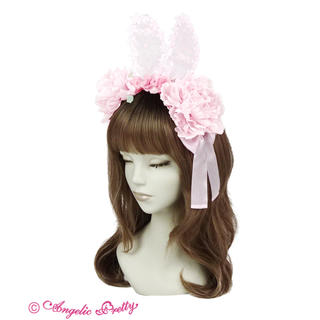 Angelic Pretty - 兎慶ぶ花宴カチューシャ