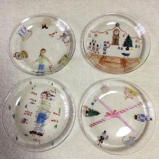 フェリシモ(FELISSIMO)のフェリシモ 童話 ガラス皿 4枚(食器)
