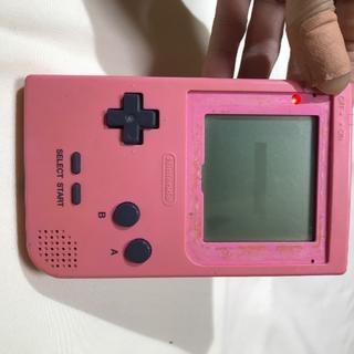 ゲームボーイ - 9/12(20) ゲームボーイポケット(ピンク)液晶枠欠品
