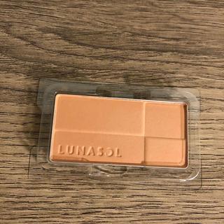 ルナソル(LUNASOL)の【新品未使用】ルナソル カラーリング シアー チークス EX07(レフィル)(チーク)