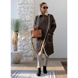 ルームサンマルロクコンテンポラリー(room306 CONTEMPORARY)のroom306♡Switching Mouton Coat (毛皮/ファーコート)
