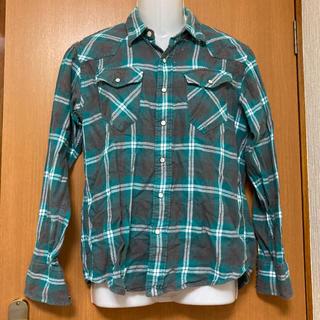 ライトオン(Right-on)のライトオン チェックシャツ ネルシャツ(シャツ)