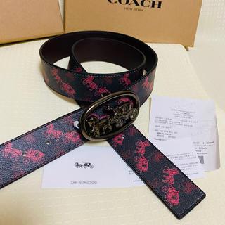 COACH - 【値下げ品】【COACH】コーチ新品正規品男女兼用リバーシブルベルト