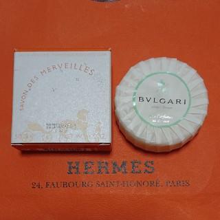 エルメス(Hermes)のエルメス 石鹸・ブルガリ 石鹸(ボディソープ/石鹸)