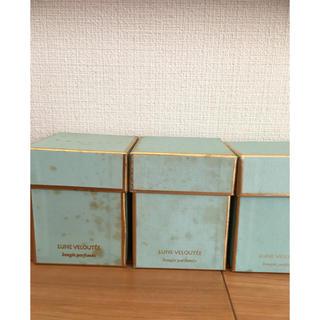 ディプティック(diptyque)の新品*高級フランス ventiro キャンドル 3つset  箱ダメージ(キャンドル)