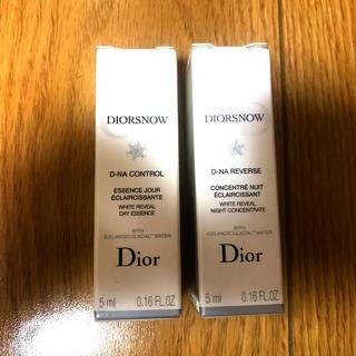 クリスチャンディオール(Christian Dior)のDior スノーホワイトニング コントロールエッセンス&ナイトコンセントレート(美容液)