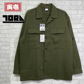 トライチ(寅壱)の☆新品未使用☆ 寅壱 日本製 オープンシャツ ワークシャツ スーパー制電/3L(シャツ)