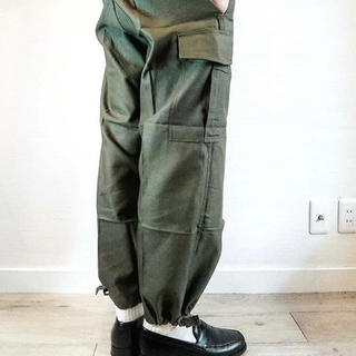 COMOLI - [M 88] BELGIE ARMY CARGO OVER PANTS