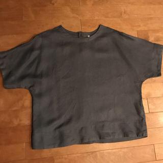 ムジルシリョウヒン(MUJI (無印良品))の無印リネン半袖ブラウス(シャツ/ブラウス(半袖/袖なし))