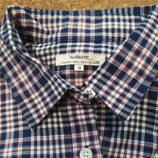 ニジュウサンク(23区)の23区 ALBIATE チェックシャツ (シャツ/ブラウス(長袖/七分))