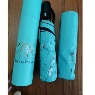 Tiffany & Co. - 早い者勝ち晴雨兼用の傘 Tiffany & Co. 折りたたみ傘 ティファニー
