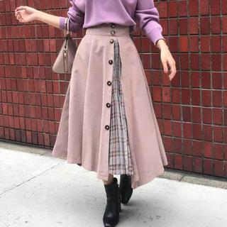 Noela - Noela プリーツ切替スカート