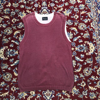 ナンバーナイン(NUMBER (N)INE)の00s archive NUMBER NINE knit vest(ベスト)