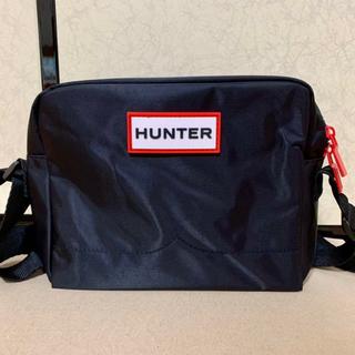ハンター(HUNTER)の【新品】HUNTER Black ショルダーバック(ショルダーバッグ)