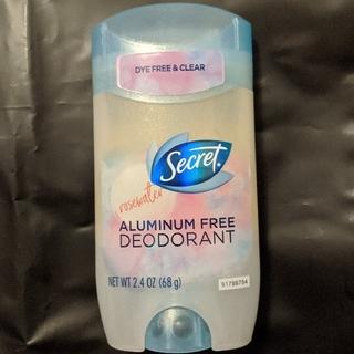 ピーアンドジー(P&G)のシークレット Secret ローズウォーター デオドラント アルミニウムフリー(制汗/デオドラント剤)