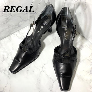 REGAL - 【REGAL】サンダル/レディース/ ブラック 23㎝