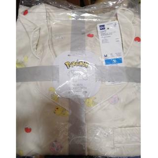 ジーユー(GU)の新品未開封GUポケモンコラボパジャマ 半袖&ショートパンツ M(パジャマ)