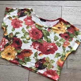 エモダ(EMODA)のEMODAショート丈トップス(Tシャツ(半袖/袖なし))