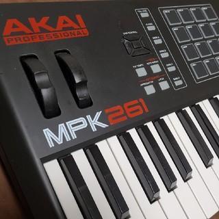 ヤマハ(ヤマハ)のAKAI MPK261 MIDI鍵盤 midiキーボード midiコントローラー(MIDIコントローラー)