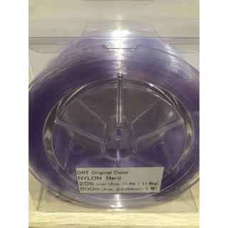 DRT ナイロンライン ハード パープル 20lb 低伸度 新品未開封(釣り糸/ライン)