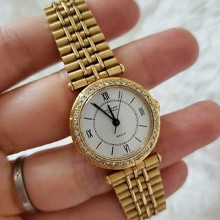 ヴァンクリーフアンドアーペル(Van Cleef & Arpels)のヴァンクリーフ&アーペル ダイヤベゼル 16602(腕時計)