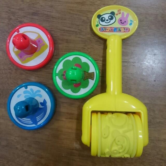 PILOT(パイロット)のスイスイおえかき スタンプとローラー パイロット キッズ/ベビー/マタニティのおもちゃ(知育玩具)の商品写真
