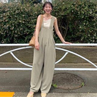 ステュディオス(STUDIOUS)のCLANE☆新品ハイウエストサスペンダーパンツ(サロペット/オーバーオール)