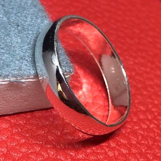 甲丸 ラウンド シルバー925 シンプル 幅広 シンプル 銀指輪 マリッジリング(リング(指輪))
