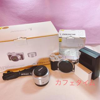 Nikon - J5ダブルレンズキット Nikon 1【新品同様】