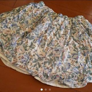 マーキュリーデュオ(MERCURYDUO)のMERCURY DUO 花柄 ミニスカート(ミニスカート)