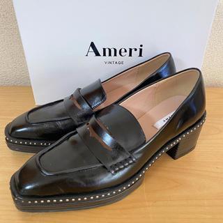 アメリヴィンテージ(Ameri VINTAGE)の【Ameri Vintage】スタッズ付きローファー(ローファー/革靴)
