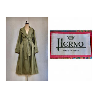 ヘルノ(HERNO)の70s HERNO Cotton Trench Coat トレンチ コート(トレンチコート)