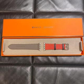 エルメス(Hermes)の【新品未使用】エルメス Apple Watch レザーバンド 44 42(レザーベルト)