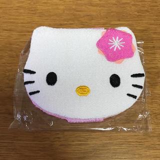 ハローキティ(ハローキティ)の新品タグ付きハローキティー鏡 コンパクトミラー ピンク♡(ミラー)