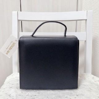 スライ(SLY)の新品 ミラーナイン 黒 スクエア ハンドバッグ ショルダーバッグ(ショルダーバッグ)